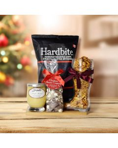 Christmas Quick Snacking Basket