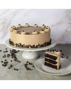 Large Hazelnut Chocolate Cake
