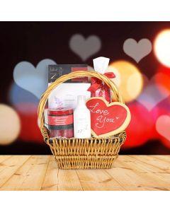 Valentine's Day Comfort Basket