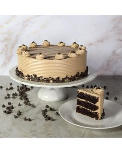 Large Hazelnut Chocolate Cake