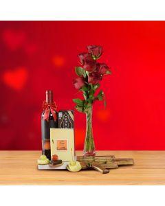 'Be Mine' Wine Cheesy Valentine's Day Gift Set