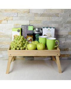 Green Fruit & Snack Gift Tray
