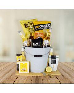 Corona Beer & Snacks Gift Basket