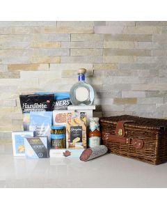 Munch & Sip Gourmet Liquor Gift Basket