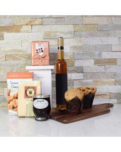 Chocolate Pralines & Muffins Gift Basket