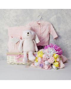 ELEGANT BABY & FLORAL GIFT SET FOR HER