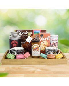 Macaron & Coffee Sweets Gift Set