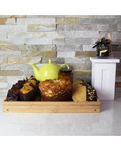 Teatime & Gourmet Treats Gift Basket