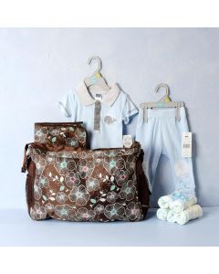 THE LET'S GO FOR OUTING BABY BOY GIFT SET