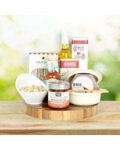 Brie Cheese Baker Gourmet Gift Set