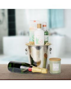 Bath & Champagne Gift Set