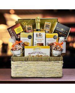 Sweet Celebration Champagne Gift Basket