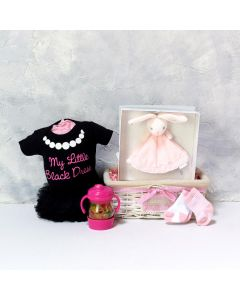 BABY GIRL'S FIRST BUNNY SET