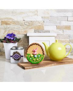 Spring Blossoms & Cookies Easter Gift Basket