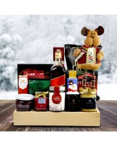 Liquor and Sweets Festive Christmas Crate