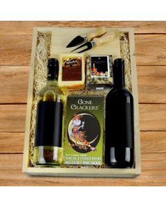 Fresh Cheese & Wine Duo Box