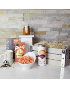 Teatime Temptations Gourmet Gift Crate