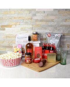Ultimate Movie Night Gift Basket