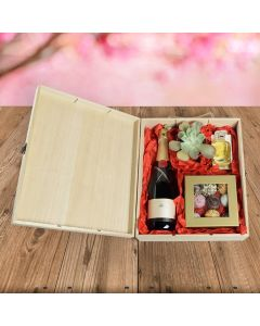 Champagne, Chocolates & Perfume Gift Set