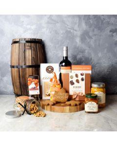 Thanksgiving Wine & Snacks Gift Set