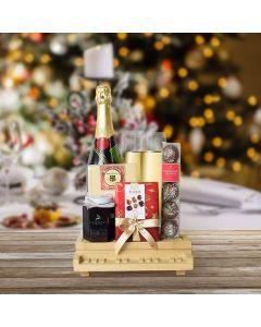 Holiday Champagne & Chocolate Celebration