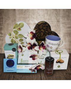 Teas for Her Heart Gift Basket