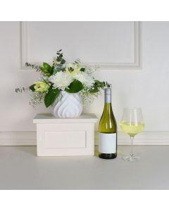 Sweet Talk Flowers & Wine Gift Set