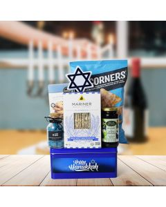 Happy Hanukkah Kosher Snack Basket