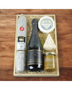 Champagne and Charcuterie Gourmet Gift Basket