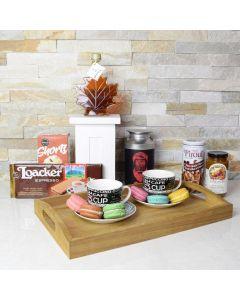 Macaron, Maple, & Coffee Gift Set