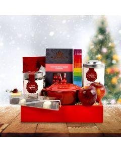 Scarlet Santa Christmas Gift Crate