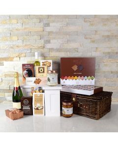 WEDDED WITH CHAMPAGNE GOURMET BASKET