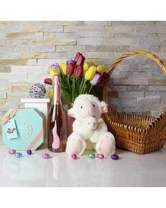 Elegant Easter Gift Basket