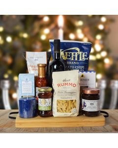 Hanukkah Kosher Wine & Pasta Basket
