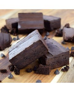 Iced Brownie (Without Nuts)