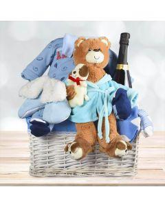Baby Boy Champagne Celebration