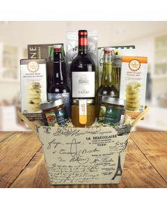 Chateau de Versailles Wine Gift Basket