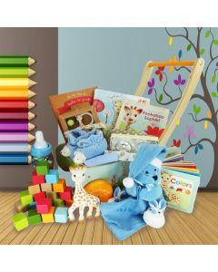 The Ultimate Sophie la Girafe Baby Boy Gift Basket