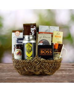 Bravely Bold Gourmet Coffee Gift Basket