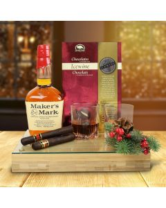 Whiskey & Chocolate Gift Set