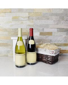 Wine Duo Picnic Gift Basket