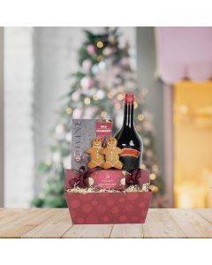 Gingerbread for Two Liquor Gift Set