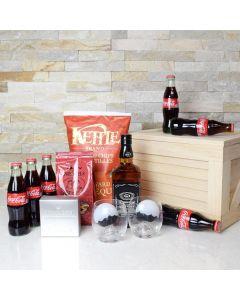 Whiskey & Coke Gift Crate
