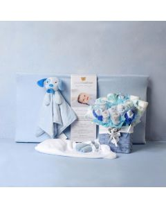 THE BABY BOY COMFORT & CHANGING SET