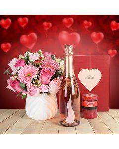 Classic Valentine's Day Gift Basket