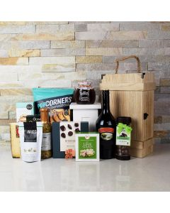 THE CHARMING GOURMET GIFT BASKET