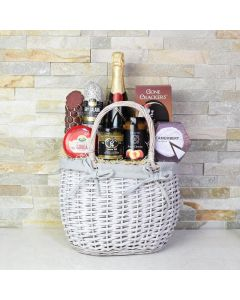 Camembert & Crackers Champagne Gift Set