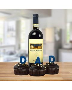 The Cake & Wine Father's Day Gift Basket