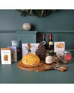 Holiday Wine, Cheese & Chocolate Platter