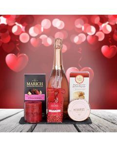 Champagne & Sweets Gift Basket
